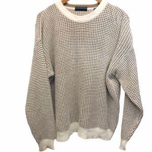 Claybrooke Pullover sweater size L Ramie/Cotton